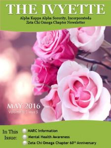 Alpha Kappa Alpha Sorority, Incorporated Zeta Chi Omega Chapter Newsletter