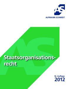 ALPMANN SCHMIDT. Staatsorganisationsrecht