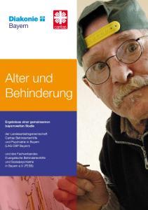 Alter und Behinderung