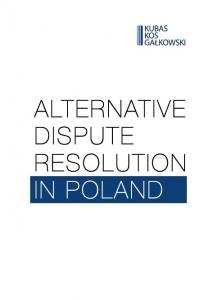 ALTERNATIVE DISPUTE RESOLUTION IN POLAND