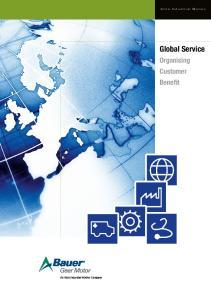 Altra Industrial Motion. Global Service. Organising Customer