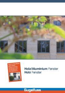 Aluminium Fenster Holz Fenster