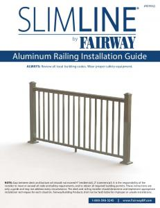 Aluminum Railing Installation Guide