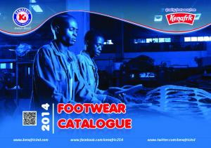 always ahead FOOTWEAR CATALOGUE FOOTWEAR CATALOGUE