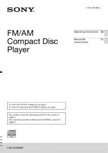 AM Compact Disc Player