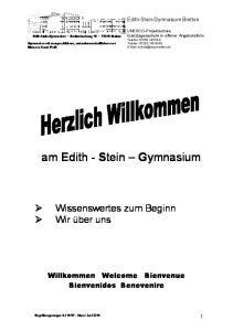 am Edith - Stein Gymnasium