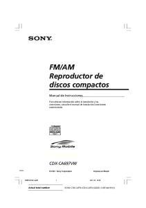 AM Reproductor de discos compactos