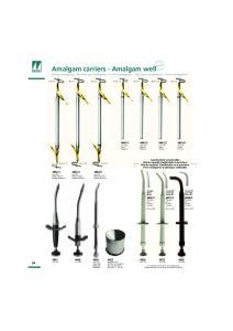 Amalgam carriers - Amalgam well