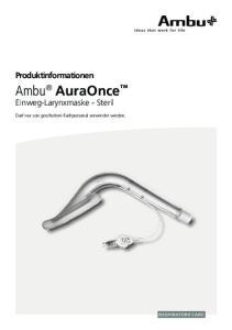 Ambu AuraOnce Einweg-Larynxmaske - Steril