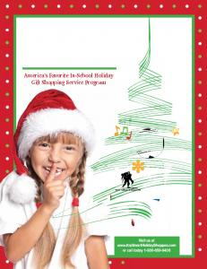 America s Favorite In-School Holiday Gift Shopping Service Program