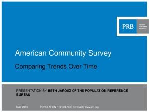American Community Survey