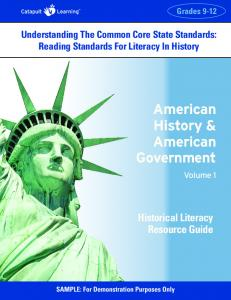 American History & American Government