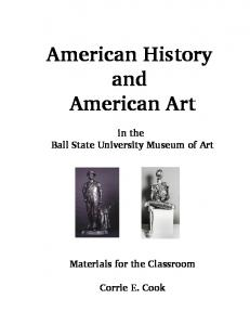 American History and American Art