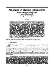 American Journal of Engineering Education 2010 Volume 1, Number 1