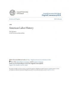 American Labor History