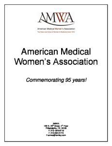 American Medical Women s Association