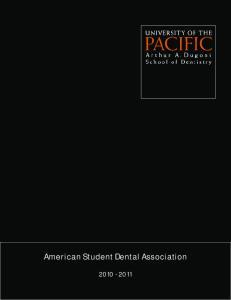 American Student Dental Association