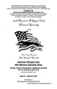 American Whippet Club 28th National Specialty Show