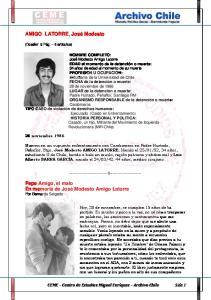 AMIGO LATORRE, José Modesto