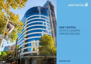 AMP CAPITAL OFFICE LEASING OPPORTUNITIES