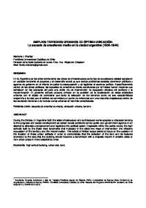 AMPLIOS TERRENOS URBANOS DE ÓPTIMA UBICACIÓN: La escuela de enseñanza media en la ciudad argentina ( )