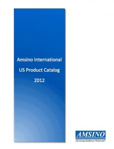 Amsino International US Product Catalog. Table of Contents