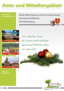 Amts- und Mitteilungsblatt. und Mitteilungsblatt