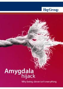Amygdala. hijack. Why being clever isn t everything