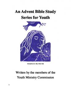 An Advent Bible Study Series for Youth