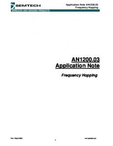 AN Application Note
