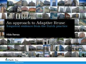 An approach to Adaptive Reuse