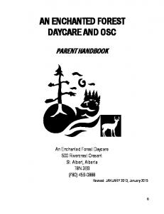 AN ENCHANTED FOREST DAYCARE AND OSC
