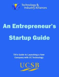 An Entrepreneur s Startup Guide