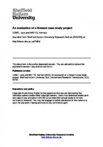 An evaluation of a Breeam case study project