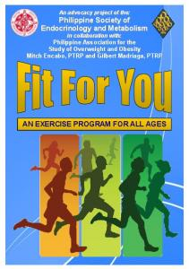 AN EXERCISE PROGRAM FOR ALL AGES
