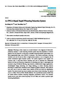 An FPGA-Based Rapid Wheezing Detection System