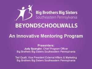 An Innovative Mentoring Program