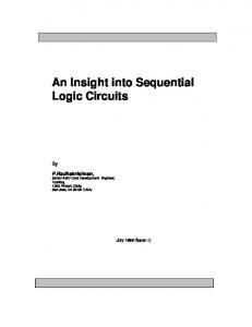 An Insight into Sequential Logic Circuits