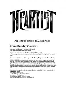 An Introduction to Heartist