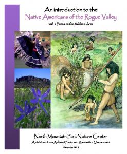 An introduction to the Native Americans of the Rogue Valley