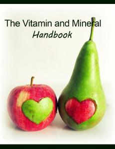 An Overview of Vitamins
