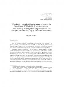 Ana Ruiz Varona * y Social ( ) como en la Ley del Suelo de 1956 y reiterada en la Ley de