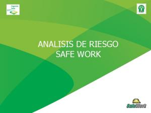 ANALISIS DE RIESGO SAFE WORK
