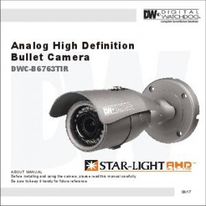 Analog High Definition Bullet Camera