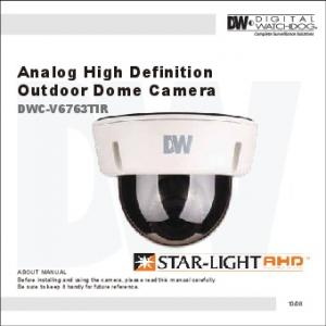 Analog High Definition Outdoor Dome Camera