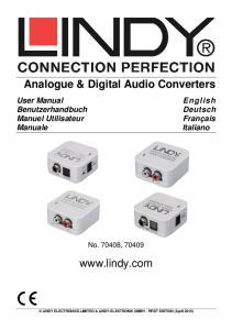 Analogue & Digital Audio Converters