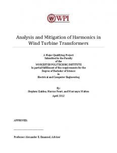 Analysis and Mitigation of Harmonics in Wind Turbine Transformers