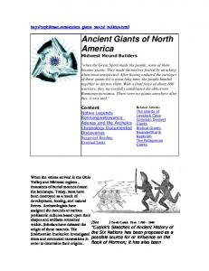Ancient Giants of North America
