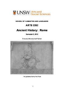 Ancient History: Rome