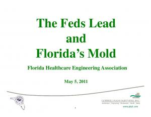 and Florida Healthcare Engineering Association